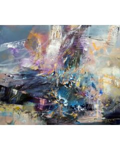 THE CHILDHOOD OF CHAOS 4 LARGE PAINTING MINDSCAPE LIGHTSCAPE BY O KLOSKA