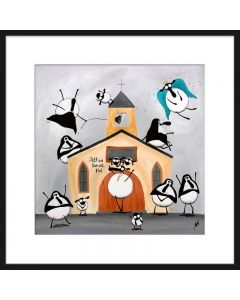 Christian Fellowsheep (Limited Edition Print)