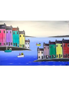 Colourful Harbour Town