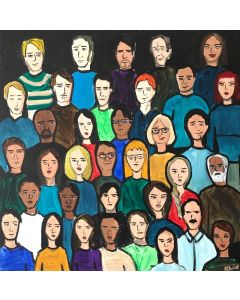 Crowd Of Faces 2