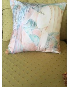 Cushion Throw Pillow,uniquely designed by Artist Beth Harriet Neal