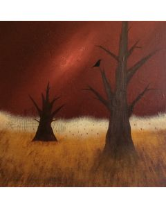 Silence Of Nature- Acrylic On Stretched Canvas