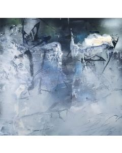 Stuning Light Abstract Enigmatic Paintings By O KLOSKA
