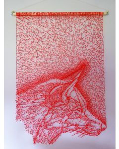 Red Fox Wall Hanging 2