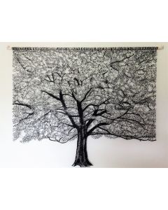 Lace Tree Wall Hanging 4