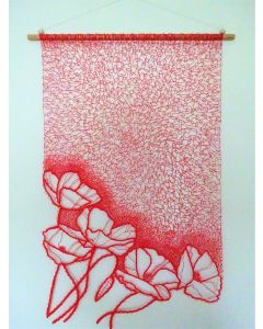 Poppies Wall Hanging  2