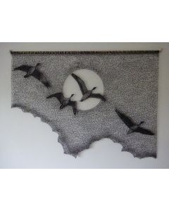 Wild Geese Wall Hanging