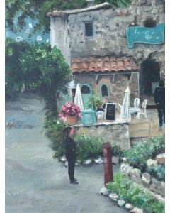 Cafe St Paul De Vence