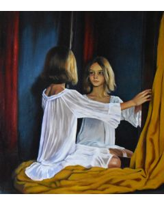 A girl in the mirror