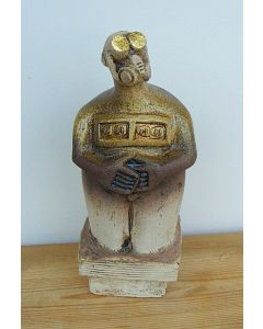 The Poet – Ceramic Sculpture
