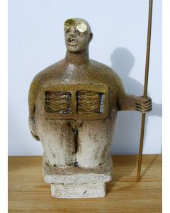Sentinel Figure - Ceramic Sculpture