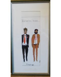 Two Young Men (FRAMED)