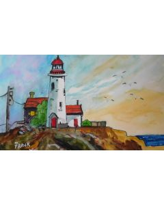 A Classic  Lighthouse   (UNFRAMED)