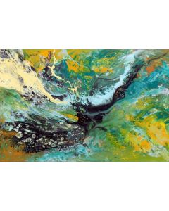Modern abstract painting art