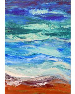 large modern abstract seascape
