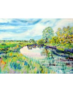 'Houghton Meadows' Summer on the River
