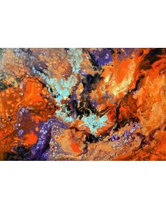 Flamengo, modern abstract painting