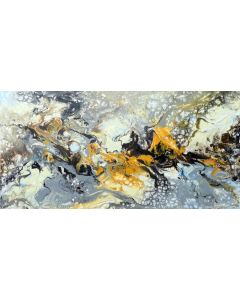 large modern abstract painting art - Follow your dream