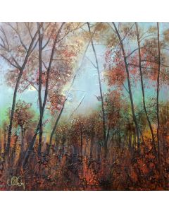 Contemporary Tree Landscape by Jo Starkey