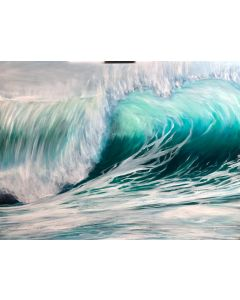 front of Emerald Waves II