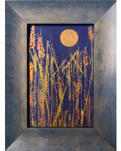 Midnight Harvest - original framed painting