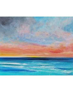 Fresh Dawn - Large Seascape