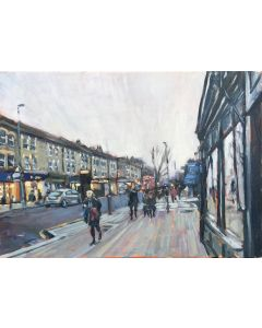 Painting of Northcote Road