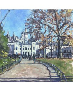 Painting of Horse Guards parade