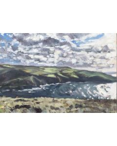 Painting of Crackington Haven