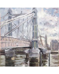 Painting of Albert Bridge