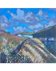Painting of Boscastle