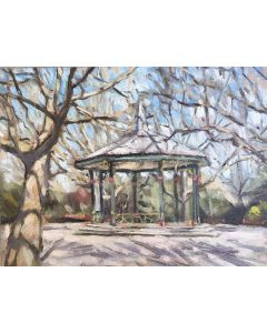 Battersea Park bandstand plein air