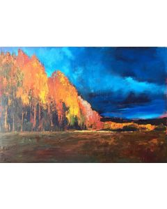 Autumn Light Landscape painting.