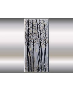 Big Wave- Large, structured artwork, acrylic painting on canvas