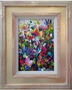 Floral Abstract - 'Royal Display'