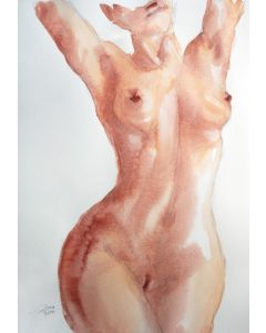 GRACE VII. SERIES OF NUDE BODIES FILLED WITH THE SCENT OF COLOR