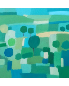 Abstract Hampshire Landscape IV