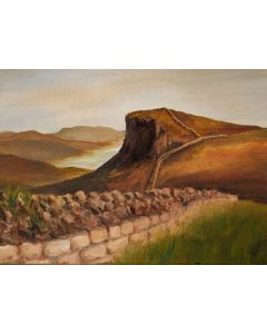 Hadrian's Wall by Crag Lough