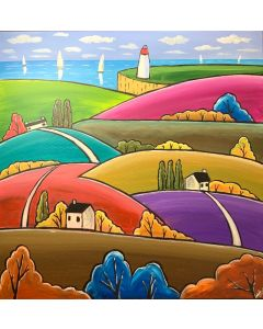 Happy Colourful Hills