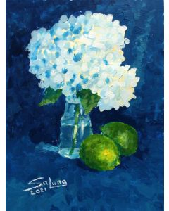 HYDRANGEA AND LIME