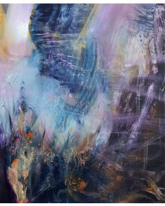 LARGE XXL PAINTING THE IMMANENCE OF A FLIGHT MINDSCAPE LIGHTSCAPE ENIGMA MELANCHOLIA CREATION BY O KLOSKA