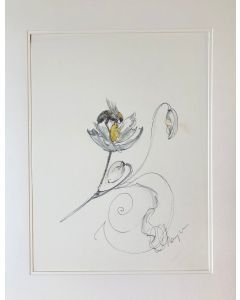 Original Hand Drawn Sketch | Study of the bumble bee
