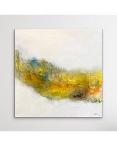 MEMORIES I 60 X 60 CM I NATURAL ABSTRACT ARTWORK I SQUARE