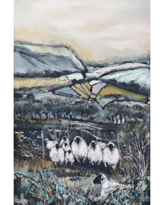 Sheep In The Countryside 5