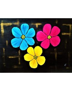 Of Course I Can Paint Flowers.