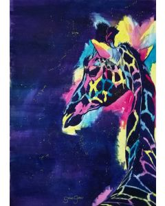 Colourful Giraffe