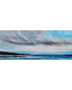 The Greatest Things In Life Are Free - Panoramic Seascape