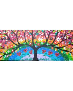 Musical Jewelled Tree in the Colourful Sky
