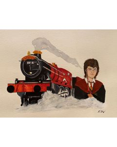 Harry Potter and the train