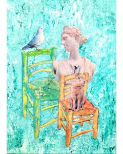 Chair Hare and Dove